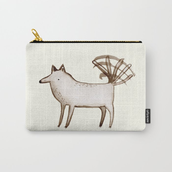 """""""I'm So Happy"""" - Dog Carry-All Pouch"""