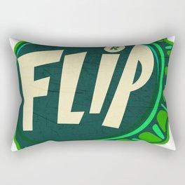 Vintage Flip Soda Pop Bottle Cap Rectangular Pillow