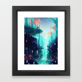 Mononoke Forest Framed Art Print