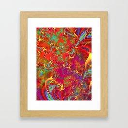 Festive Musings Framed Art Print