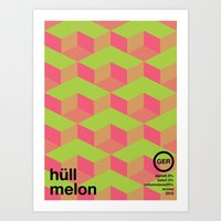hull melon single hop Art Print