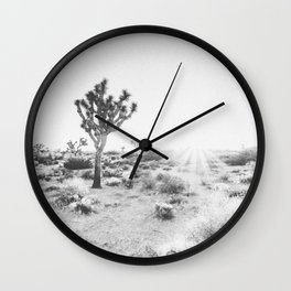 JOSHUA TREE IV / California Desert Wall Clock