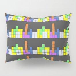 Tetris vs. Skyscape Pillow Sham