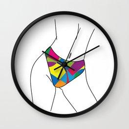 Sensual Movement Wall Clock