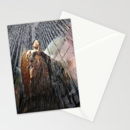 The Angel at the Heart of the Rain Stationery Cards