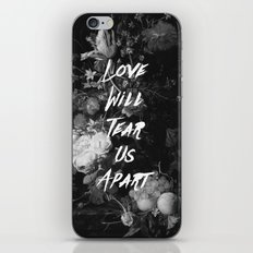 Love Will Tear Us Apart II iPhone & iPod Skin