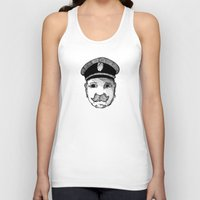 captain silva Tank Tops featuring Captain by Addison Karl