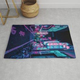 A Neon Wonderland called Tokyo Rug