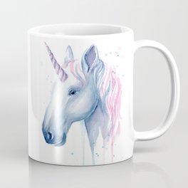 Blue Pink Unicorn Coffee Mug