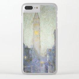 Birge Harrison - Madison Avenue At Twilight Clear iPhone Case