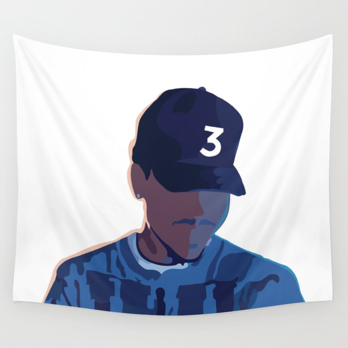 Coloring Book Chance The Rapper Wall Tapestry By Patri152