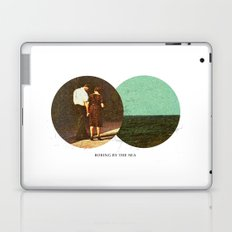 Boring by The Sea | Collage Laptop & iPad Skin