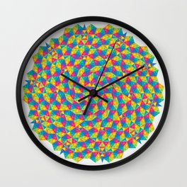 Lively Polyhedron Wall Clock