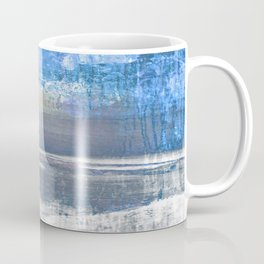 Blue Color Patches Coffee Mug