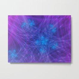 Mitosis in Purple Metal Print