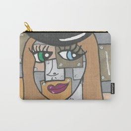 Robot Girl Carry-All Pouch