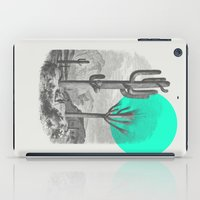 cacti iPad Cases featuring Cacti by Zeke Tucker