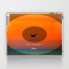 Set yourself Free Laptop & iPad Skin