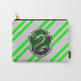 Slytherin Hogwarts Stripes Carry-All Pouch