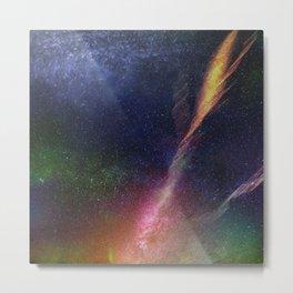Cosmic Crossing Metal Print