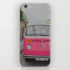Hot Pink Lady iPhone & iPod Skin
