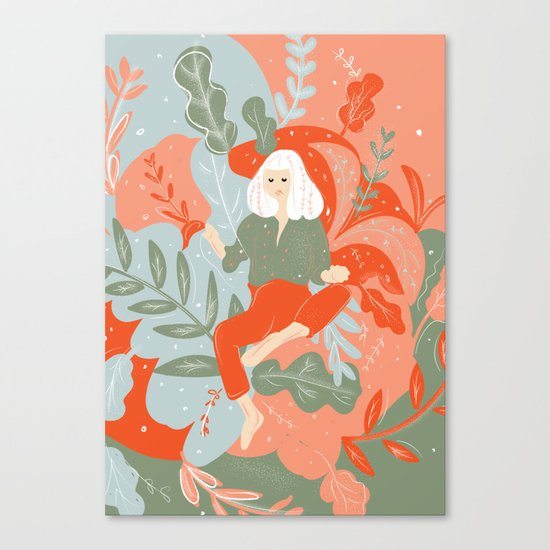 Take Me To The Wonderland Canvas Print