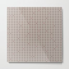 Pattern of diamonds with soft colors Metal Print