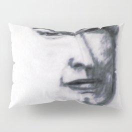 Portrait Sketch Of Artist Leslie B. De Mille Pillow Sham