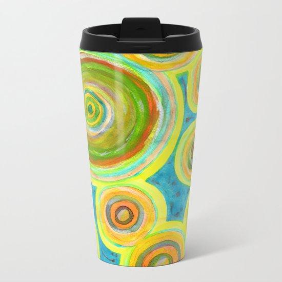 Circular Sky Lights Metal Travel Mug