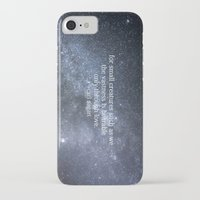 carl sagan iPhone & iPod Cases featuring Carl Sagan and the Milky Way by Astrophotos by McLeod