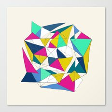 Geometric World Canvas Print