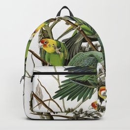 Carolina Parakeets - John James Audubon Backpack
