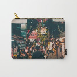 """PHOTOGRAPHY """"Typical Japan Street"""" Carry-All Pouch"""