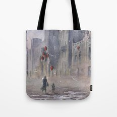 The dream seller and old factory Tote Bag