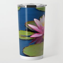 Pink Waterlily by Teresa Thompson Travel Mug