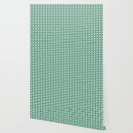 Decorative Delicate Green Pattern Wallpaper