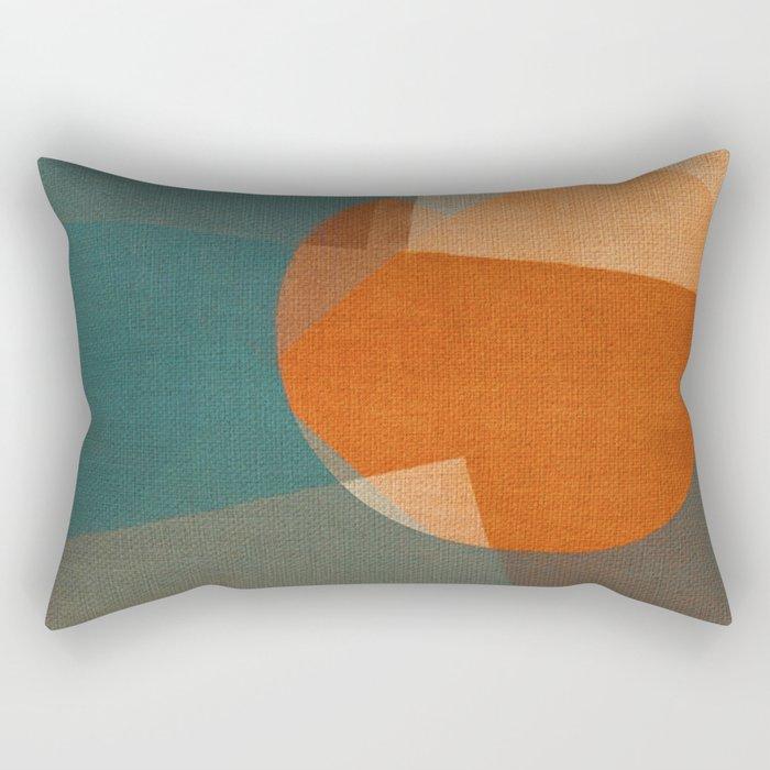 Rusty Sun Rectangular Pillow