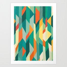 Broken Ocean Art Print