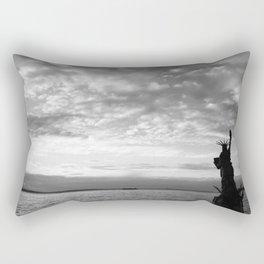 Seattle, Alki Beach Rectangular Pillow