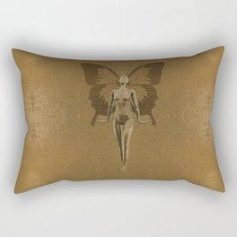 Golden Fairy Rectangular Pillow
