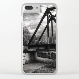 On the Trail 1 Clear iPhone Case