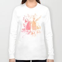 lungs Long Sleeve T-shirts featuring lungs by divinerush