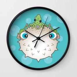Squid Hat Wall Clock