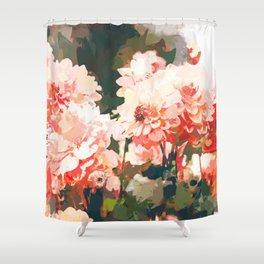Blush #nature #digitalart Shower Curtain