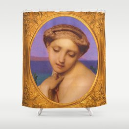 Hellenic Allure Shower Curtain