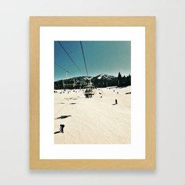 Snow Peace Snow Hope Framed Art Print