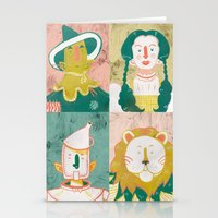 oz Stationery Cards featuring Oz by StinkyInky_Jess