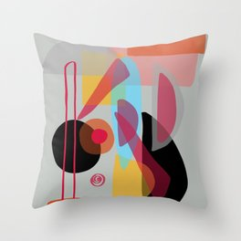 Modern minimal forms 22 Throw Pillow