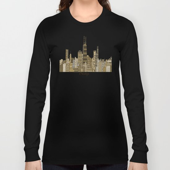 chicago vintage Long Sleeve T-shirt