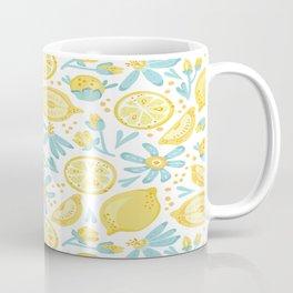 Lemon pattern White Coffee Mug